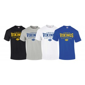 Limerick Vikings - Custom Ball  Logo 2 T Shirt
