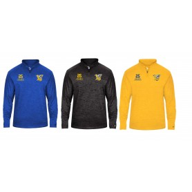 Limerick Vikings - Customised Embroidered Tonal Blend Sport 1/4 Zip