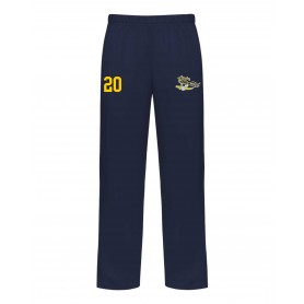UEA Pirates - Customised Embroidered Badger Open Bottom Joggers
