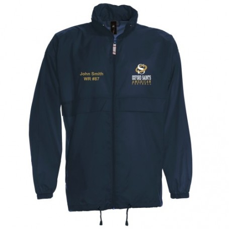 Oxford Saints - Lightweight College Rain Jacket