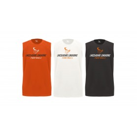 Lincolnshire Longhorns - Printed Fitted B Core Sleeveless Tee
