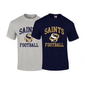 Oxford Saints - Saints Football Logo T-Shirt