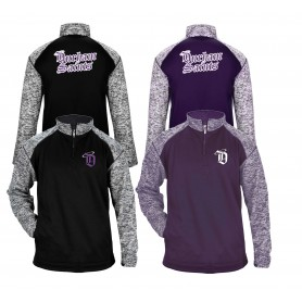 Durham Saints - Embroidered & Printed Tonal Blend Sport 1/4 Zip