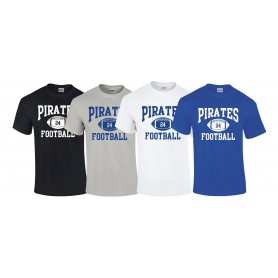 Sovona Pirates - Custom Ball Logo 1 T-Shirt