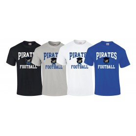 Sovona Pirates - Laces Logo T-Shirt