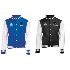 Sovona Pirates - Embroidered Varsity Jacket