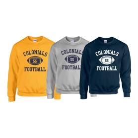 Lincoln Colonials - Custom Ball 1 Logo Sweat Shirt