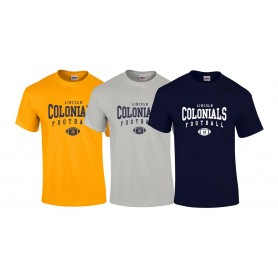 Lincoln Colonials - Custom Ball Logo 2 T Shirt