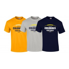 Lincoln Colonials - Laces Logo T Shirt