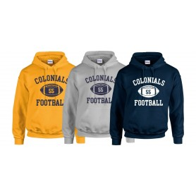 Lincoln Colonials - Custom Ball Logo 1 Hoodie