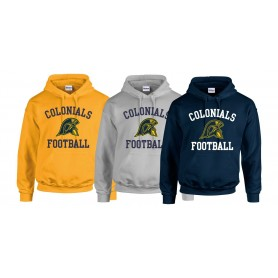 Lincoln Colonials - Football Logo Hoodie