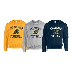 Lincoln Colonials - Football Logo Sweat Shirt