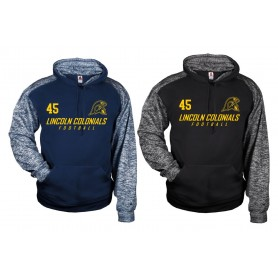 Lincoln Colonials - Sports Blend Text Logo Hoodie