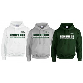Edinburgh Predators - Edinburgh Athletic Split Text Logo Hoodie