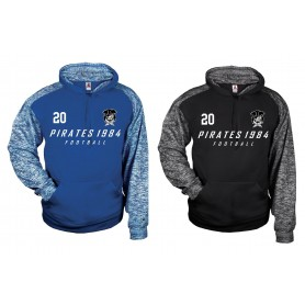 Savona Pirates - Sports Blend Football Logo Hoodie