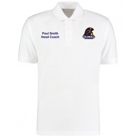 Lincoln Colonials - Coaches Customised Embroidered Polo Shirt