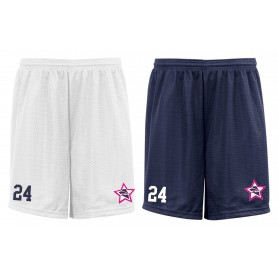 Renegades Football - Custom Embroidered Mesh Shorts