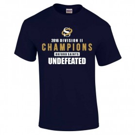 Oxford Saints - 2016 Divison II Champions T-Shirt 2 w/ Fixtures