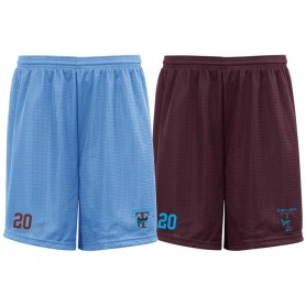 Burnley Tornados - Embroidered Mesh Shorts