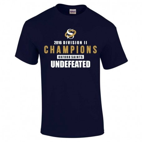Oxford Saints - Kids 2016 Division II Champions T-Shirt 1