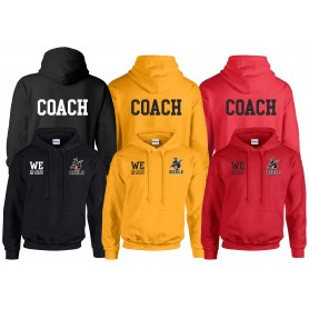 Keele Crusaders - Coaches Custom Embroidered Hoodie