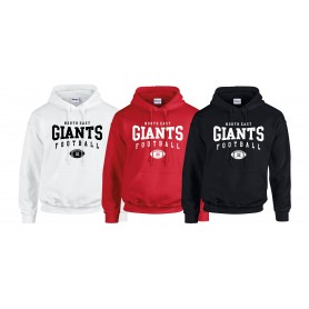 North East Giants - Custom Ball Logo 2 Hoodie
