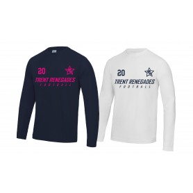 Trent Renegades - Customised Performance Long Sleeve T Shirt