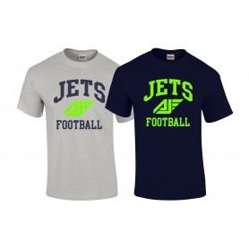 Antrim Jets - Football Logo T Shirt