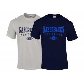 Razorbacks - Custom Ball Logo T-Shirt 1