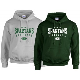 Shape Spartans - Custom Ball Logo Hoodie 2