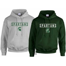 Shape Spartans - Text Logo Hoodie 3