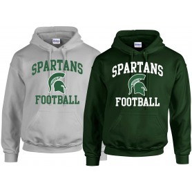 Shape Spartans - Football Logo Hoodie