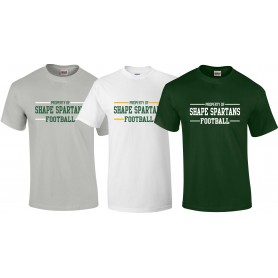 Shape Spartans - Text Logo T Shirt 2