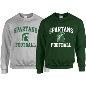 Shape Spartans - Football Logo Sweat Shirt