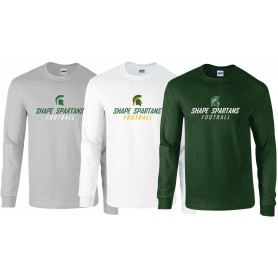 Shape Spartans - Long Sleeve T Shirt