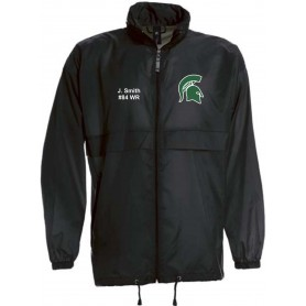 Shape Spartans - Custom Lightweight College Rain Jacket