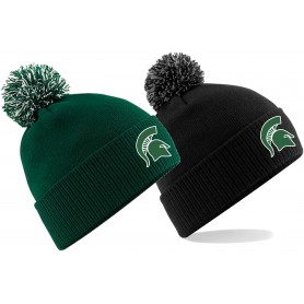 Shape Spartans - Embroidered Bobble Hat