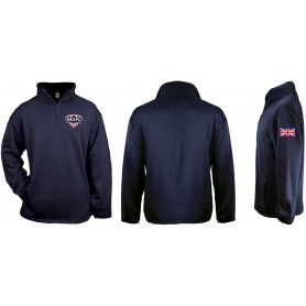 UKAFL - Badger 1/4 Zip Poly Fleece Pullover