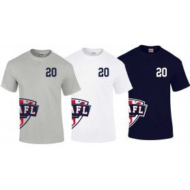 UKAFL - Printed Custom Side Logo T Shirt