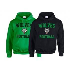 Ware Wolves - Text Logo Hoodie