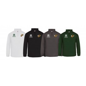Leeds Gryphons - Customised Embroidered 1/4 Zip Poly Fleece Pullover