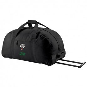Ware Wolves - Custom Embroidered Wheelie Holdall