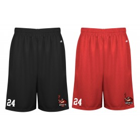 North East Giants - Embroidered Money Mesh Pocket Shorts