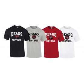 Bradford Bears - Football Logo T Shirt