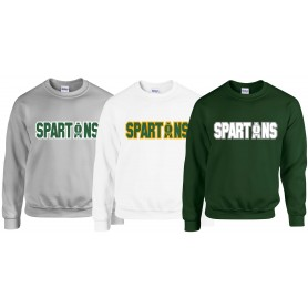 Shape Spartans - Spartans College Sweat Shirt
