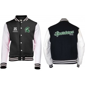 Shape Spartans - Custom Embroidered Varsity Jacket