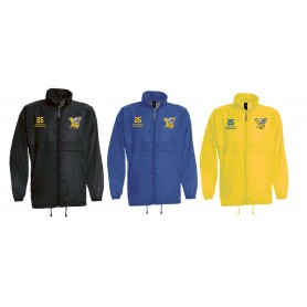 Limerick Vikings - Customised Embroidered Lightweight College Rain Jacket