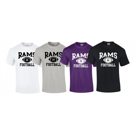 Yorkshire Academy Rams - Custom Ball 1 Logo T Shirt
