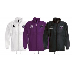 Yorkshire Academy Rams - Customised Embroidered Lightweight Rain Jacket
