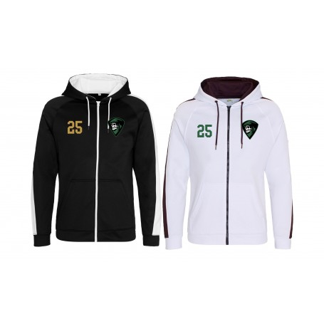 Furness Phantoms - Embroidered Sports Performance Zip Hoodie